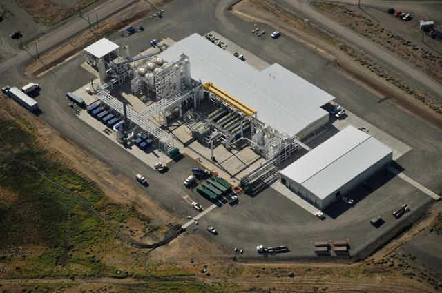 200 pump and treat aerial view